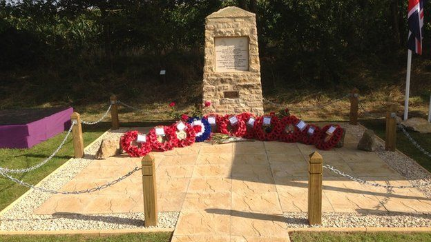 Seagry Spitfire memorial
