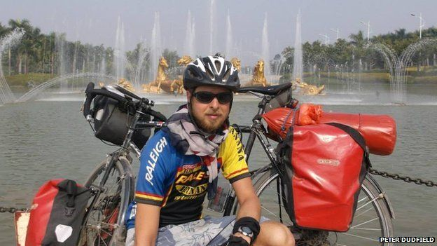 Peter Dudfield in Nanning, China