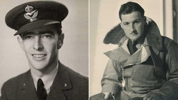 Flying Officer John Brewster and Pilot Officer Harold Williams