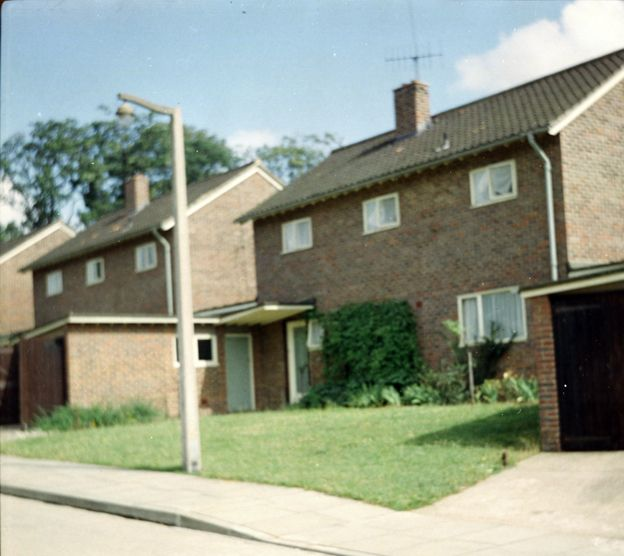 A house in Harlow, 1961