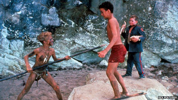 coral island in lord of the flies