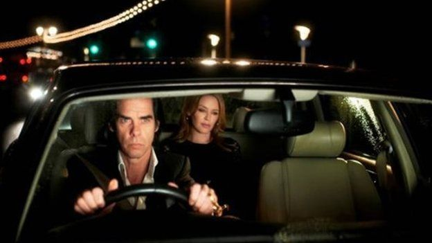 Nick Cave and Kylie Minogue