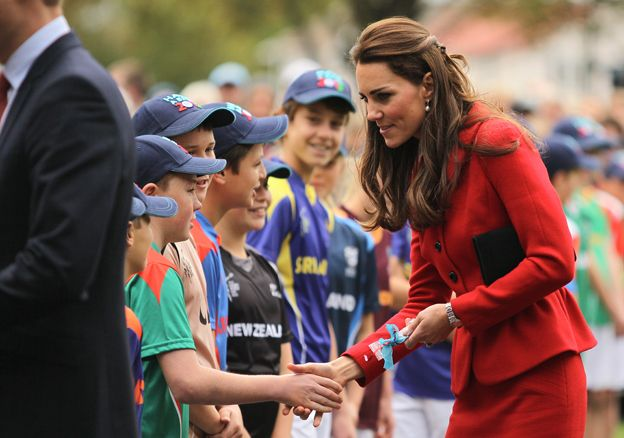 Duchess of Cambridge in New Zealand, 2014