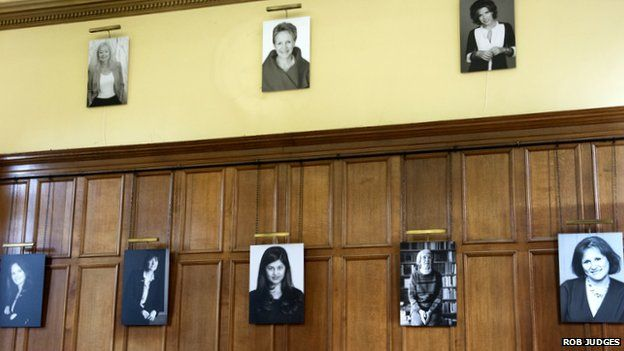 Hertford College hall