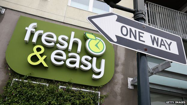 Fresh & Easy sign