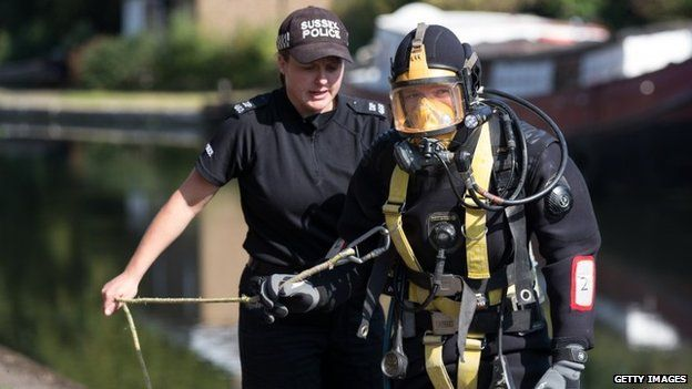 Police diver in Alice Gross search