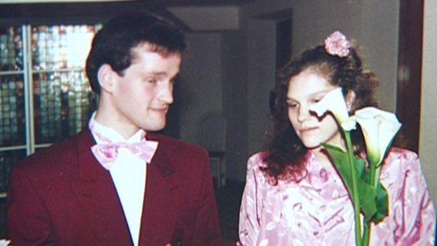Arnis and Rudite Zalkalns on their wedding day