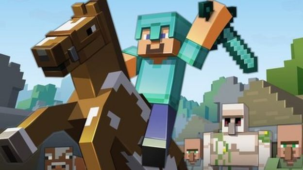 Biggest House In The World 2014 Minecraft minecraft map of the uk upgraded to include houses - bbc news