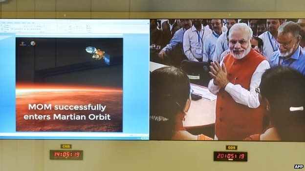 Why India's Mars mission is so cheap - and thrilling - BBC News