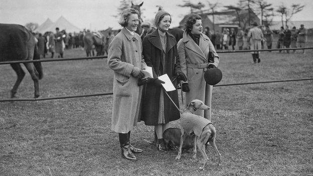 Pamela Herman Hodge, Deborah Cavendish the Dowager Duchess of Devonshire and Lady Margaret Ogilvy