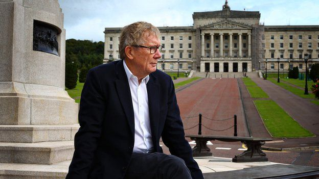 Peter Taylor at Stormont
