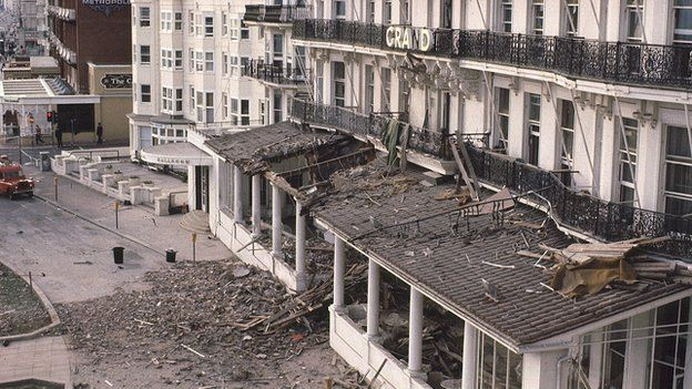 The scene of the 1984 Brighton bomb