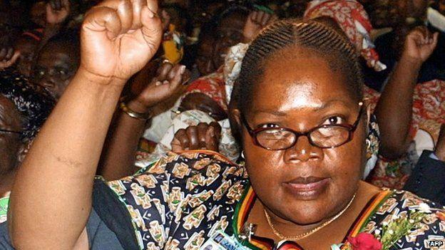 Joyce Mujuru in 2004