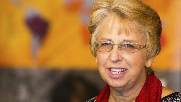 Aid worker Nancy Writebol