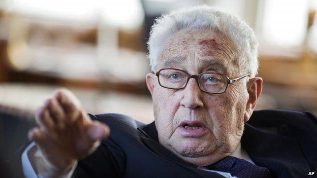 Former US Secretary of State Henry Kissinger (June 2013)