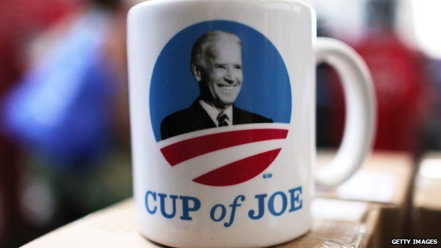Mug with Joe Biden's face