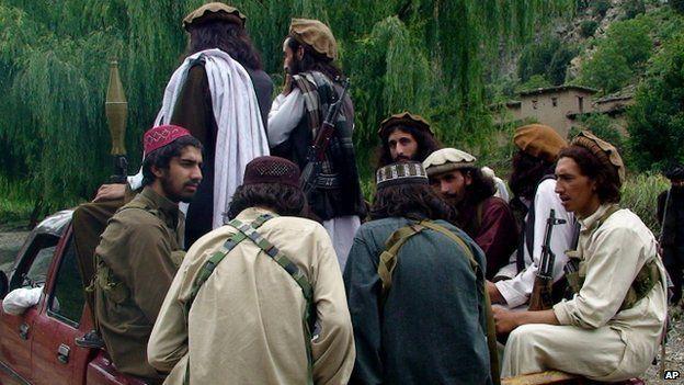 Pakistani Taliban fighters. File photo