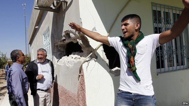 Damaged house in Turkey - 5 October