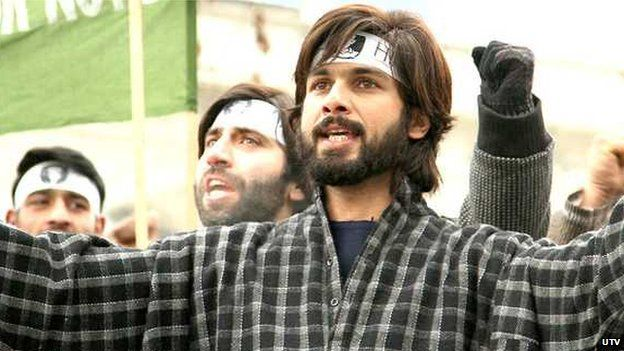 Haider's story is set in Kashmir