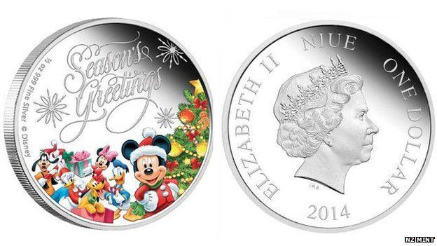 The Niue Mickey Mouse dollar coin