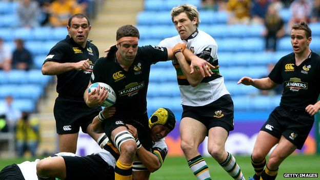 Wasps v Northampton at Coventry in 2007