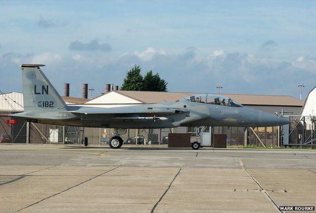 F-15 at RAF Lakenheath