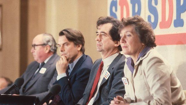 SDP official launch in 1981