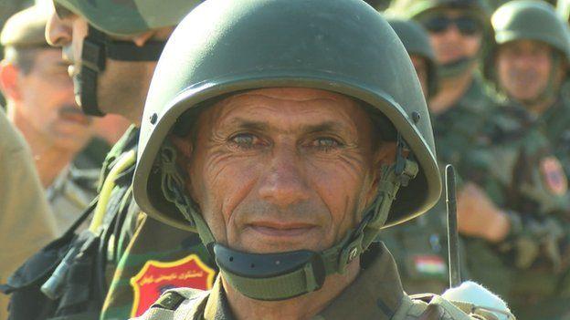 Kurdish Peshmerga General Shaikh Omar Babkai