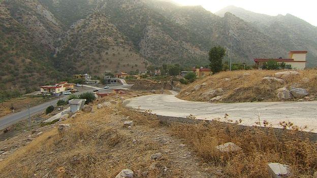 Mazne village in Kurdistan