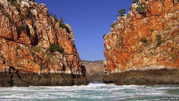 Horizontal Falls (file image)