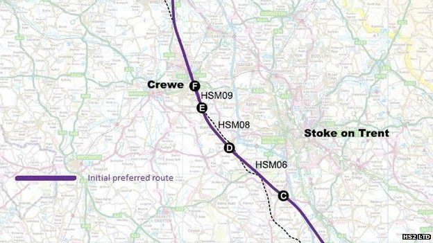 HS2 Ltd chairman David Higgins recommended extending the route to Crewe in his initial report in March