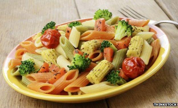 Is reheated pasta less fattening? - BBC News