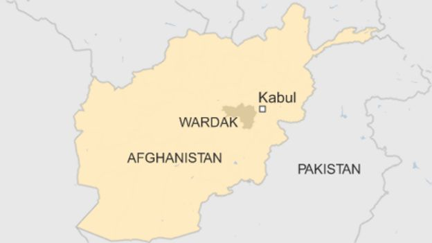 Afghanistan conflict life inside a taliban stronghold bbc news map of afghanistan gumiabroncs Choice Image