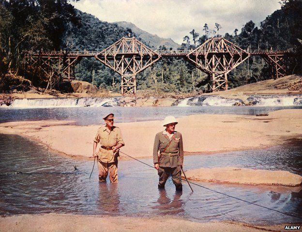 Scene from the Bridge on the River Kwai