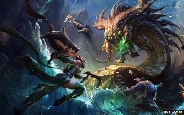 League of Legends gaming final fills Seoul stadium - BBC News