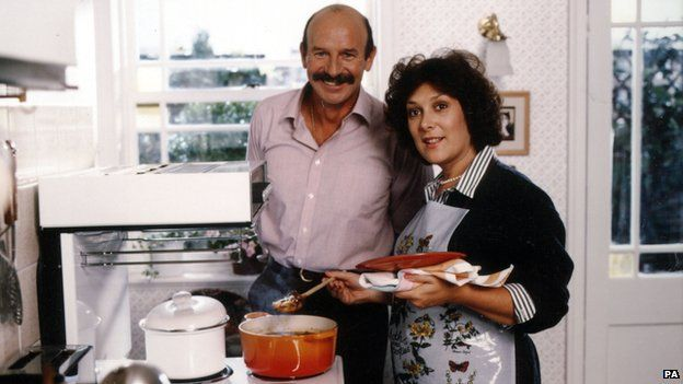 Lynda Bellingham in Oxo ad