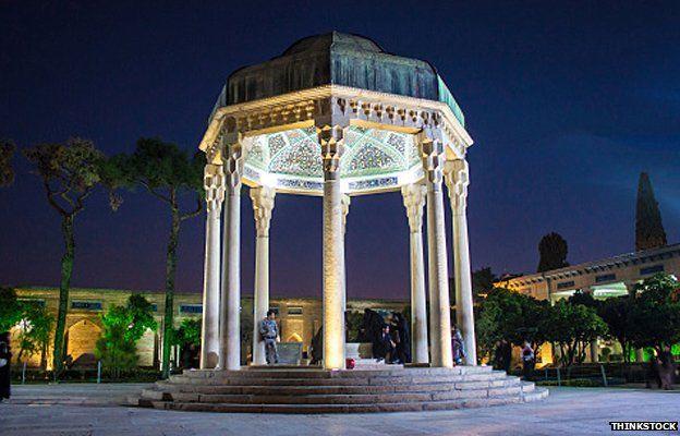The tomb of Hafez