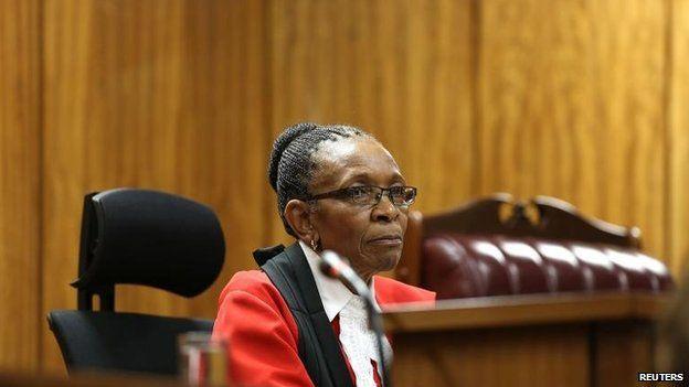 Judge Thokozile Masipa, 16 Oct