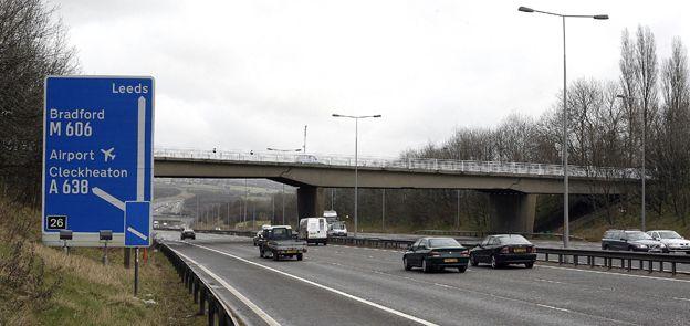 Motorway outside Leeds