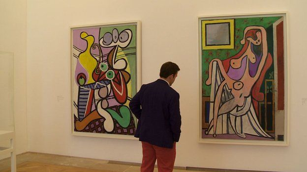 Image result for images of picasso's art in Musee de Paris