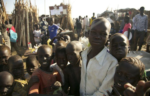 Child Soldiers Still Being Recruited In South Sudan Bbc News