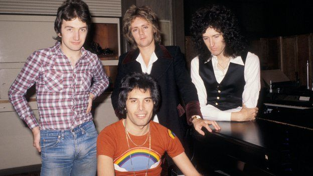 Queen in 1977