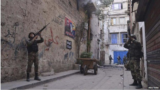 Troops in Bab al-Tabbaneh (27/10/14)