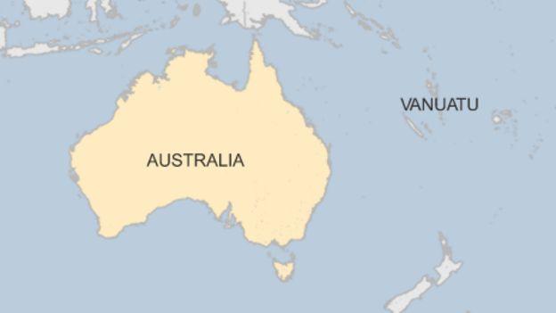 Fragment of ancient Australia found under Vanuatu - BBC News