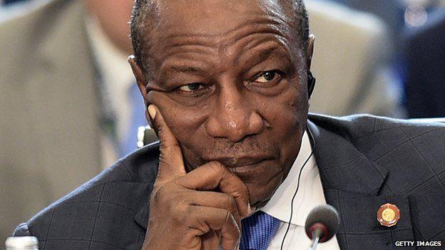 President of Guinea, Alpha Conde