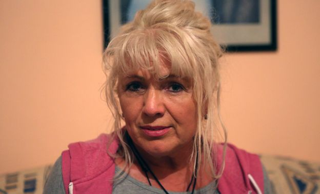 Christian's mother, 2014