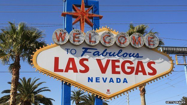 Arwydd Las Vegas