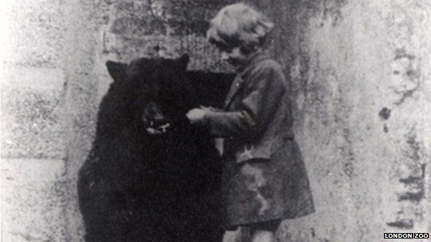 Winnie and Christopher Robin Milne