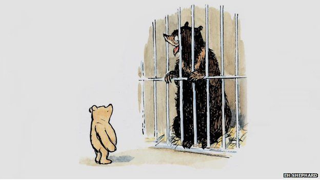 Still from Winnie the Pooh book