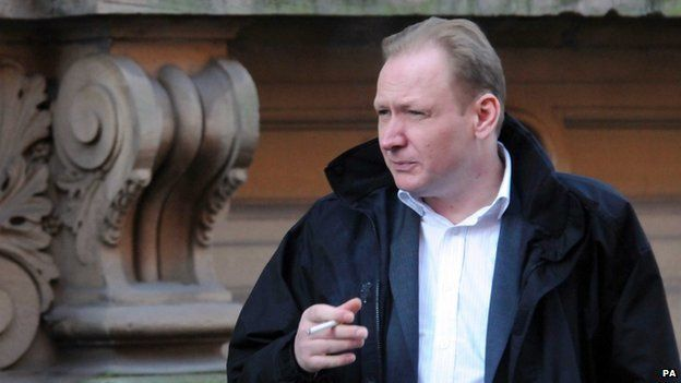 Mark Johnson outside Birmingham Crown Court